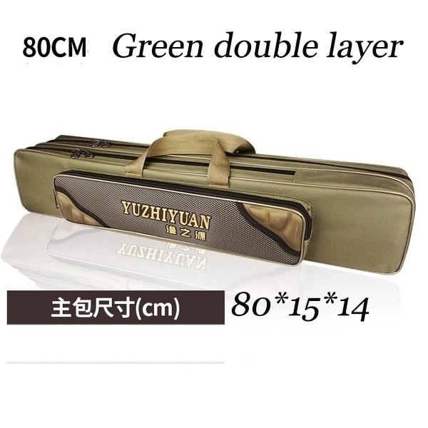Large-capacity waterproof fishing bag multi-function fishing bag fishing rod fishing source hard shell squid coarse fish fishing - OhCoolstule