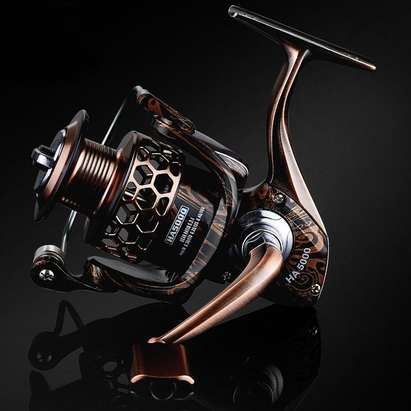 Spinning Fishing Reel 18BB Metal Spinning Reels 1000-7000 Series Boating Sea Fishing Reel - OhCoolstule