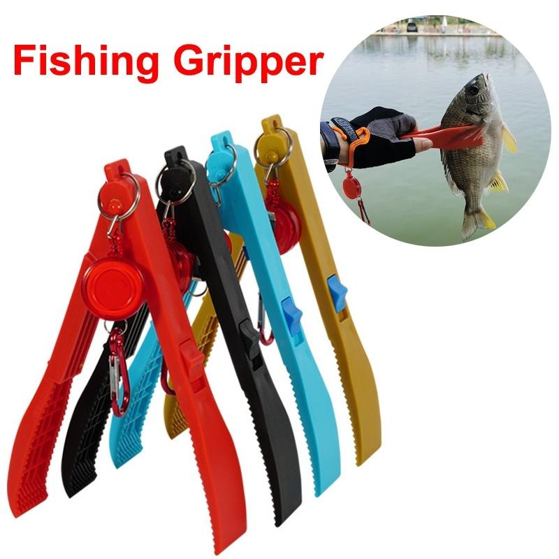Portable Fishing Gripper Gear Fish Clip Pliers Fishing Lure Tackle Tools - OhCoolstule