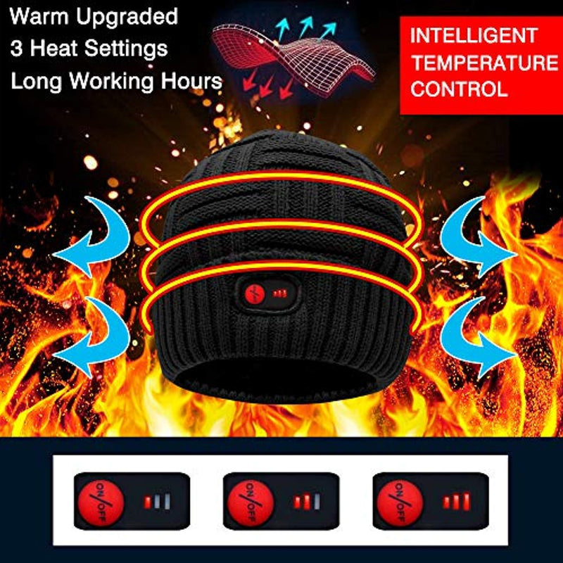 OhCoolstule™ Ice Fishing Heated Hat with Rechargeable Battery - OhCoolstule