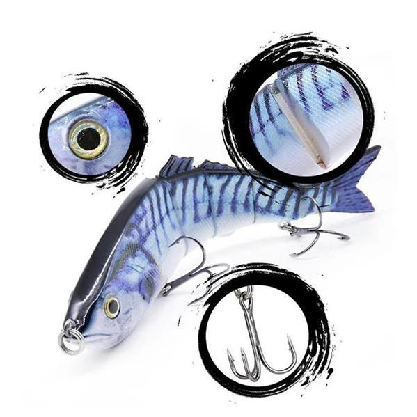 OhCoolstule™ Fishing Lure Hard Baits Multi Jointed Swimbaits 8.46in 114 g - OhCoolstule