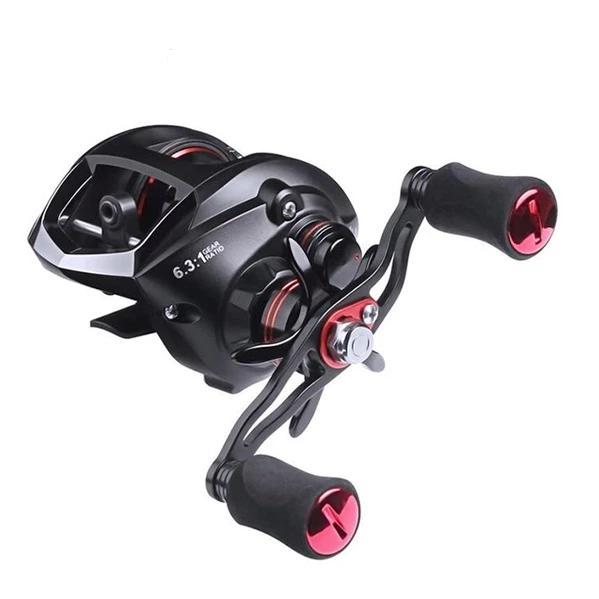 OhCoolstule™ Fishing Reel Baitcasting Reel  6.3:1 Left/Right Hand - OhCoolstule