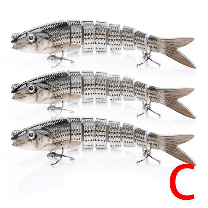 Sinking Wobblers Jointed Fishing Lures 3Pcs - OhCoolstule