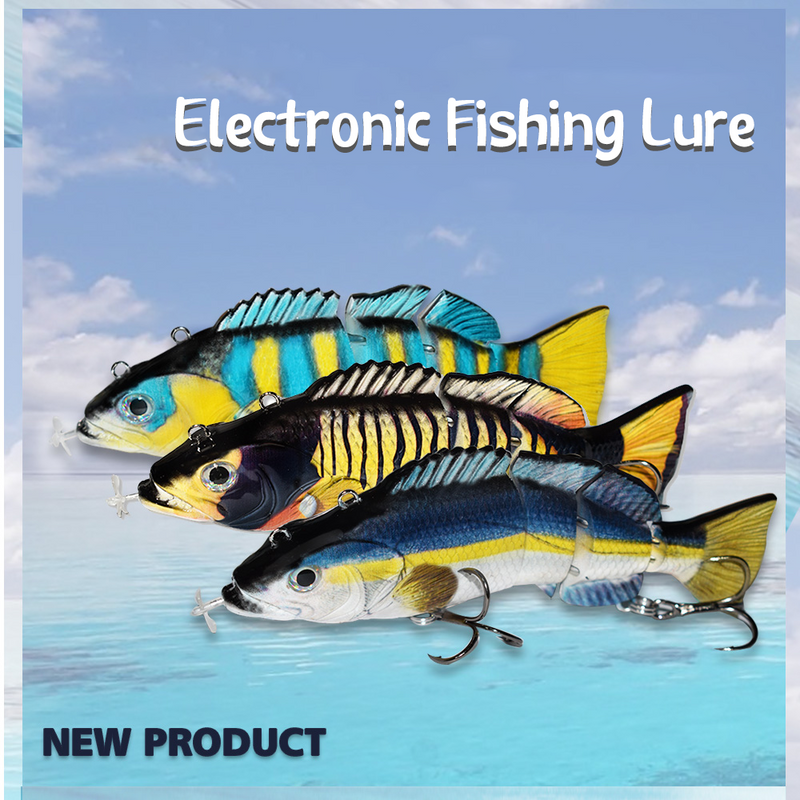 Bait electric fishing automatic bait