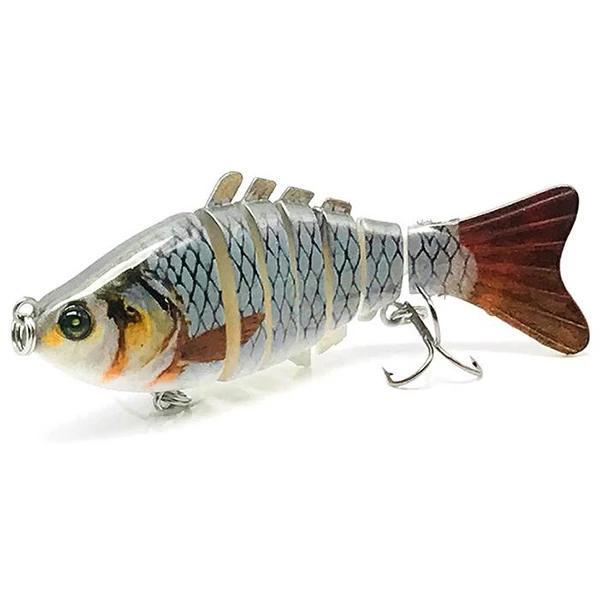 OhCoolstule™ Fishing Lure Hard Baits Multi Jointed Swimbaits 10cm 15.8g - OhCoolstule