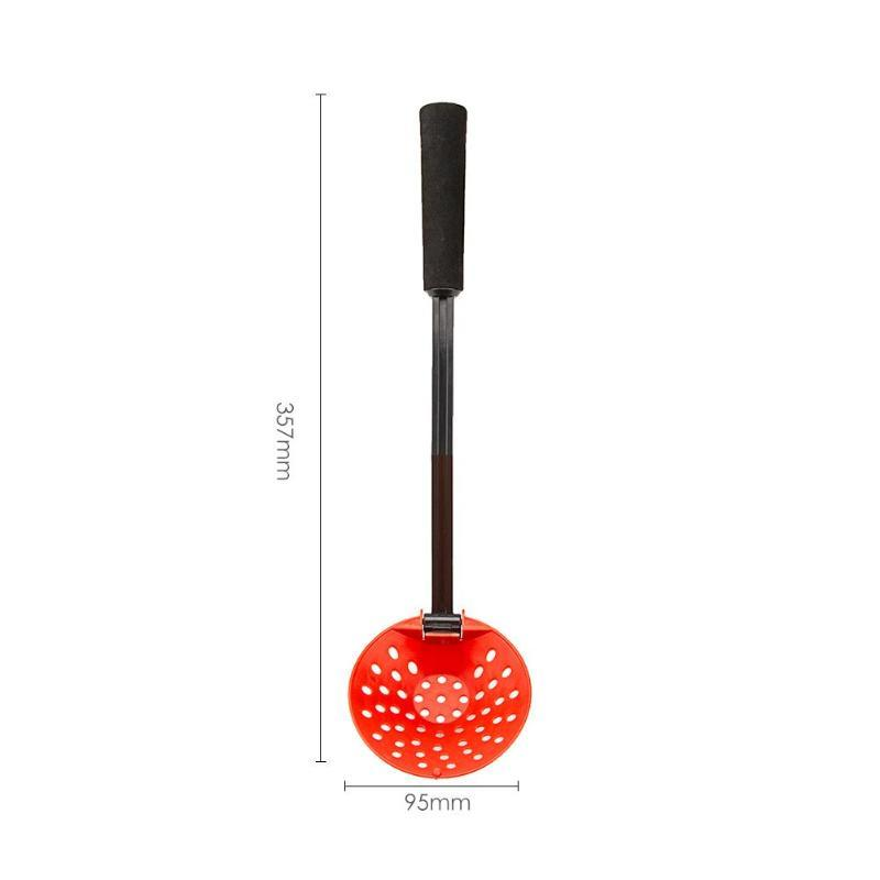 OhCoolstule™ Fishing Accessories Winter Ice Fishing Tools Ice Scoop Skimmer with Wood - OhCoolstule