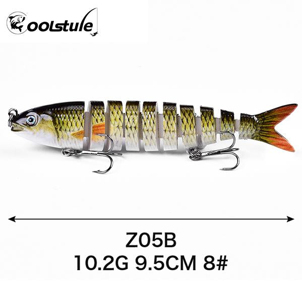 OhCoolstule™ Fishing Lure ABS Hard Baits Multi Jointed Swimbaits - OhCoolstule