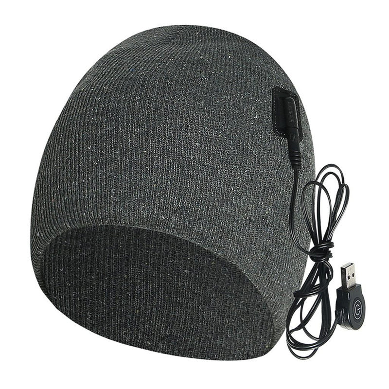OhCoolstule™ Ice Fishing Heated Hat Bluetooth Beanie Insulated USB - OhCoolstule