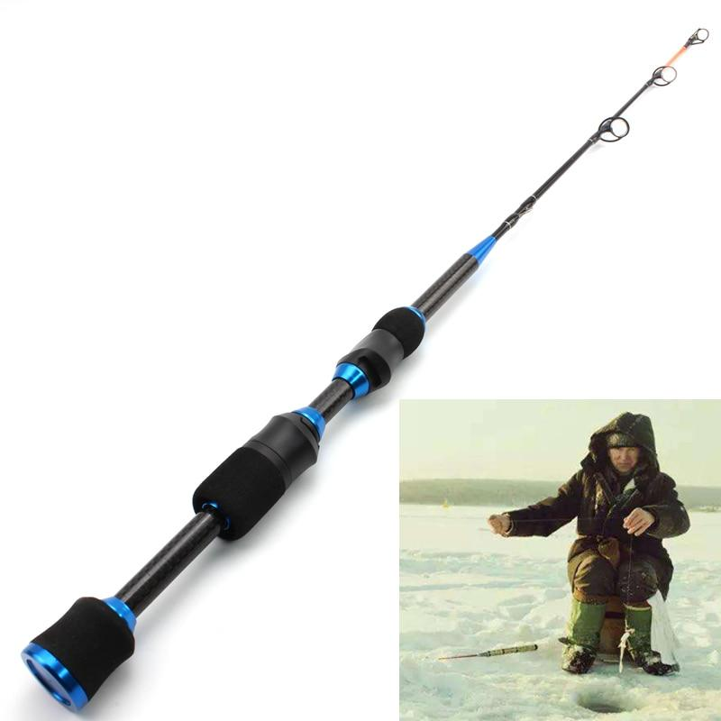 OhCoolstule™ Ice fishing Spinning Rod carbon Heavy ultrashort 67cm 75g - OhCoolstule