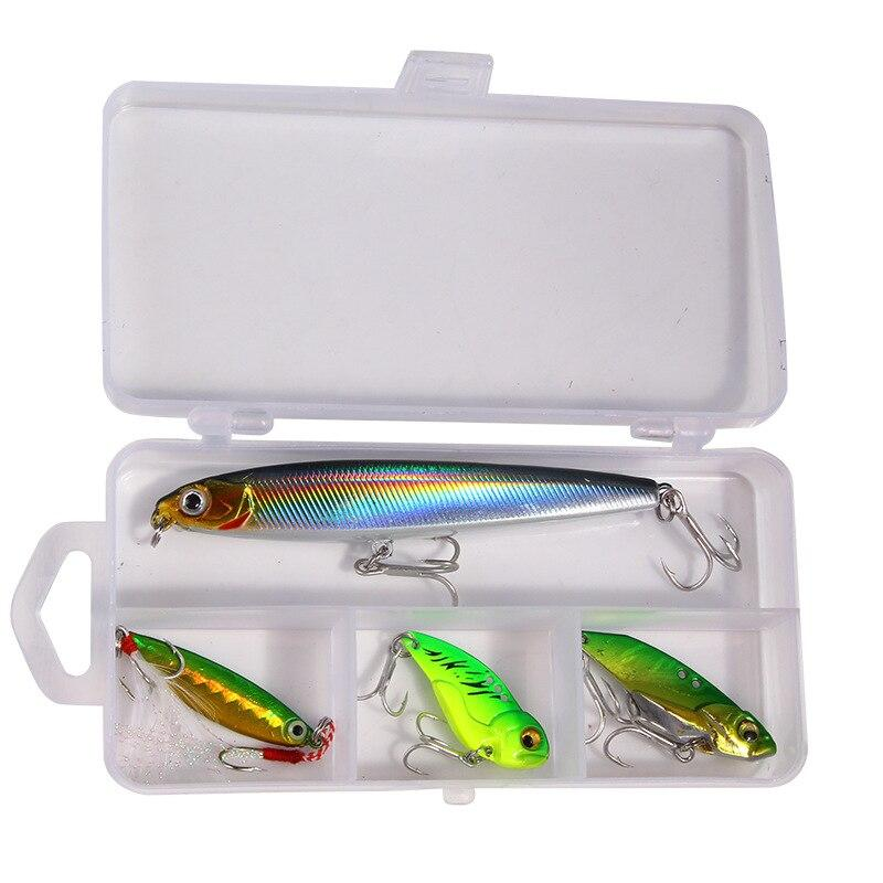 OhCoolstule™Fishing Lure Combination Set Fly Iron Plate Outdoor 4Pcs - OhCoolstule