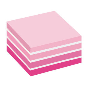 Post-It Notisar 76x76 kub pastelrosa