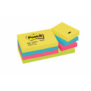 Post-it Notisar 38x51 Energetic (12)
