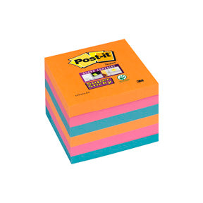 Post-it SS-Notisar 76x76 Electric Glow (6)