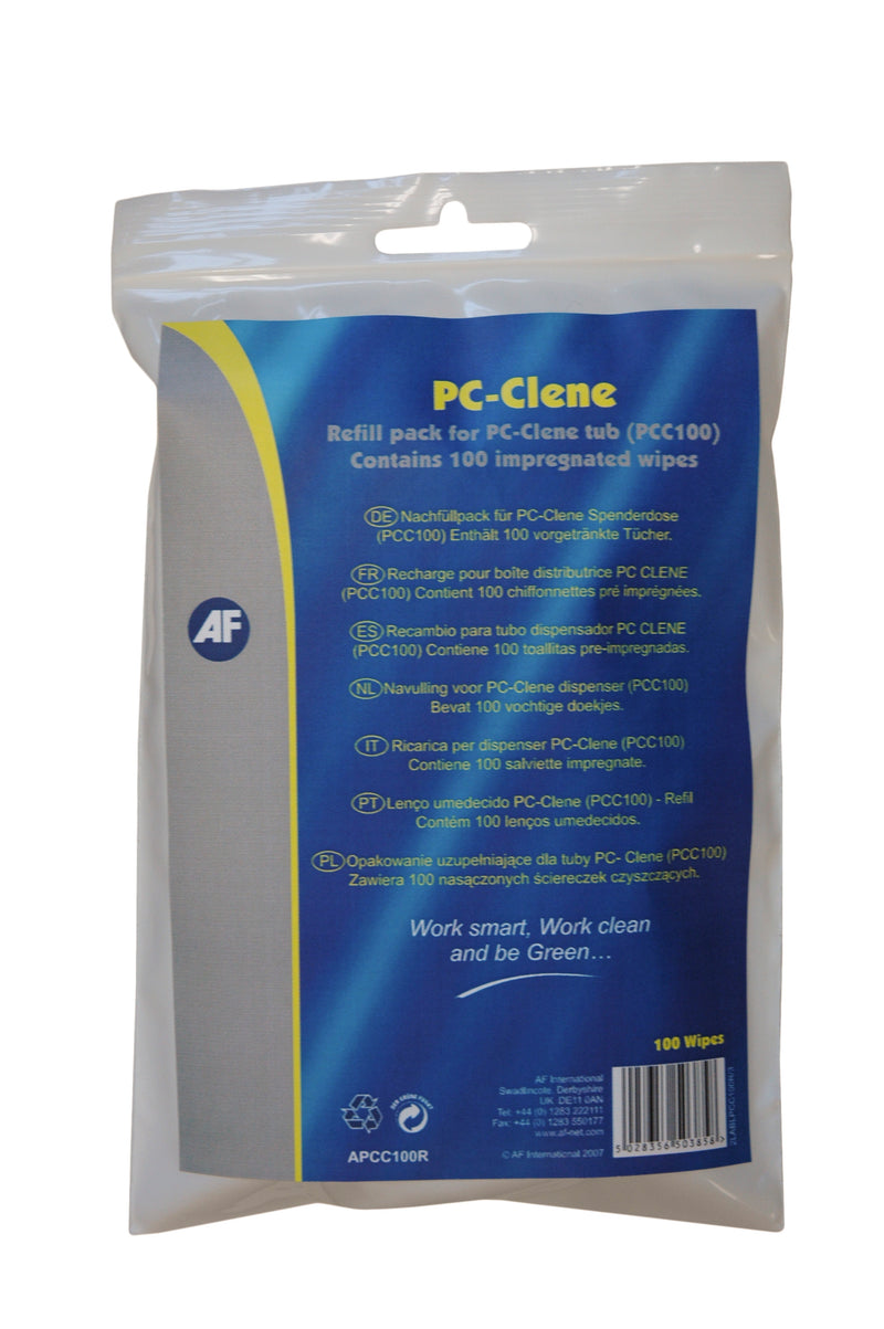 Refill pack for PC-Clene tub (AFPCC100) 100 pcs