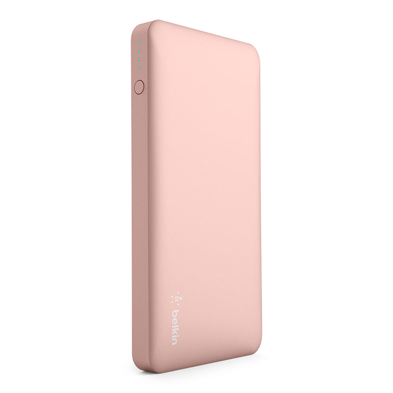 Pocket Power 10K Power Bank, Rose Gold