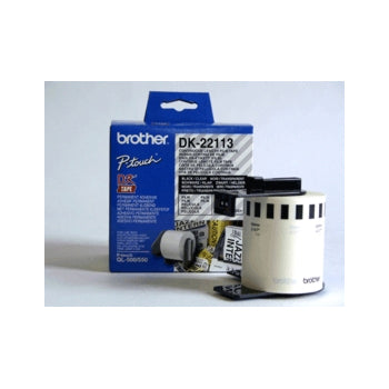 Brother labels 62mmx15,24m clear film
