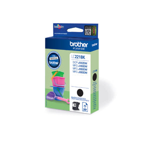 LC221BK ink cartridge black