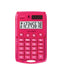 Rebell pocket calculator Starlet pink