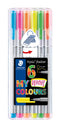 Fineliner Triplus 0,3mm Neon ass(6)