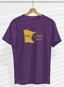"""MN LOVE with Here"" T-Shirt Fundraiser"