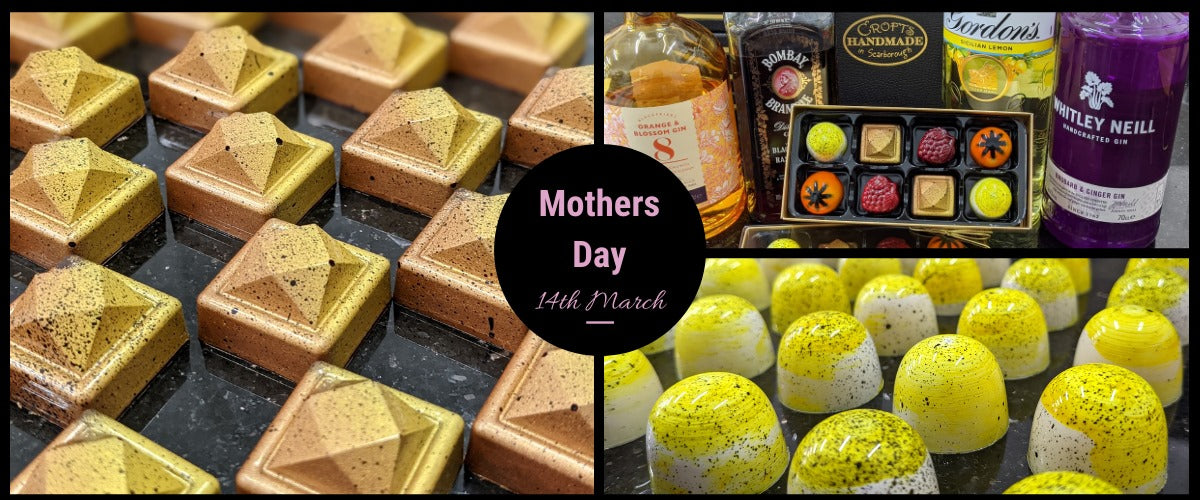 Limited Edition Gin-Filled Chocolates for Mother's Day!