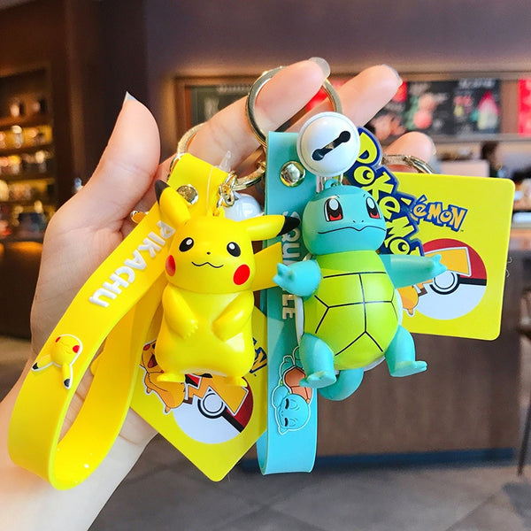 Pokemon Keychain Bag Charms Car Pendant