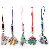 Pokemon Keychain Pendants Enamel Metal