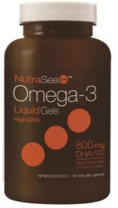 Nutrasea High DHA 60 Softgels