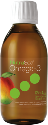 Nutrasea Omega 3 Fish Oil Mango 200ml