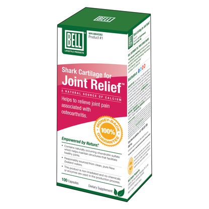 Shark Cartilage for Joint Relief (#1) 100 Capsules
