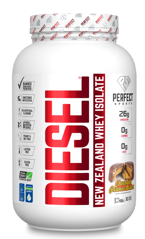Diesel Whey Protein Isolate Chocolate Peanut Butter