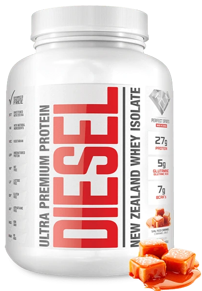 Diesel Whey Protein Isolate Salted Caramel