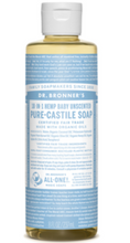 Load image into Gallery viewer, Dr. Bronner's Organic Pure Castile Liquid Soap Baby Unscented