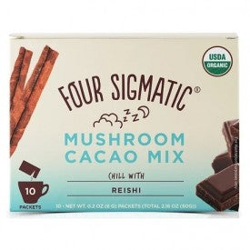 Four Sigmatic Mushroom Cacao Mix with Reishi 10pk