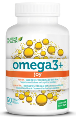 Omega3+ Joy 120 Softgels