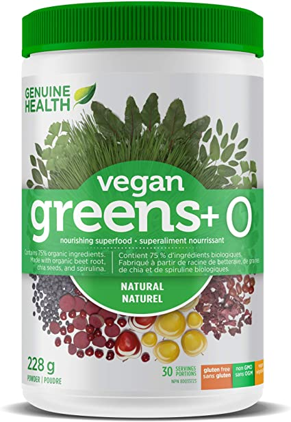 Vegan Greens+ O 228g Powder