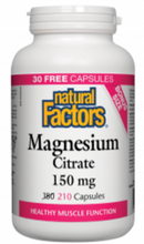 Load image into Gallery viewer, Magnesium Citrate 150mg Capsules