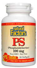 Load image into Gallery viewer, PS (Phosphatidylserine) 100mg Softgels