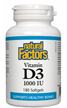 Load image into Gallery viewer, Vitamin D3 1,000 I.U. Softgels