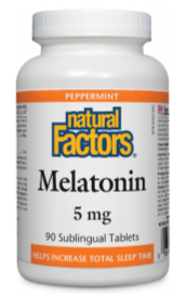 Melatonin 5mg 90 Sublingual Tablets