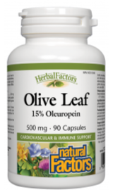 Olive Leaf Extract 500mg 90 Capsules
