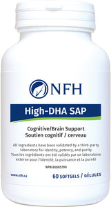 High DHA SAP 60 Softgels