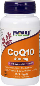 CoQ10 400mg 30 Softgels