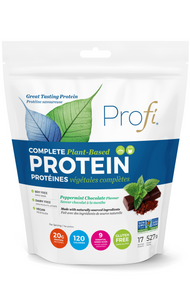 Profi Plant-Based Protein Powder Peppermint Chocolate 527g