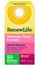 Load image into Gallery viewer, Ultimate Flora Vaginal Support for Women 50 Billion Probiotics Veggie Capsules