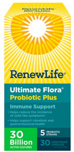 Ultimate Flora Immune Support 30 Billion Probiotics 30 Veggie Capsules