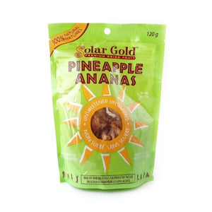 Solar Gold Dried Pineapple 120g
