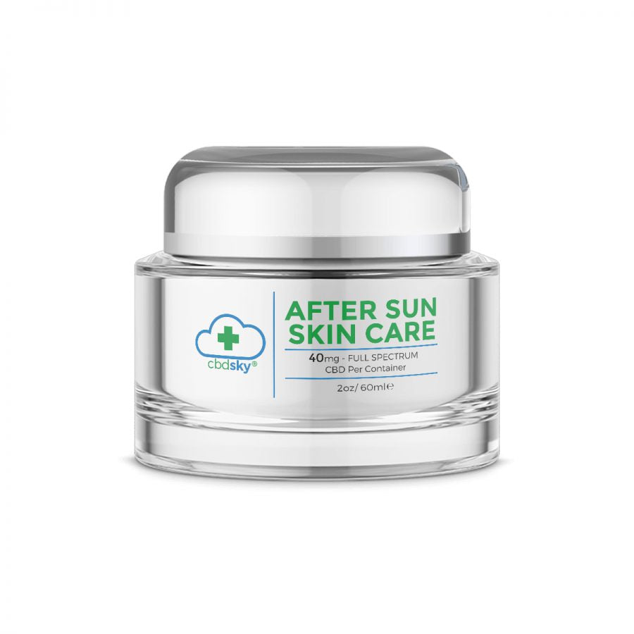 CBD After Sun Skin Care 2oz/60ml – 40mg Full Spectrum