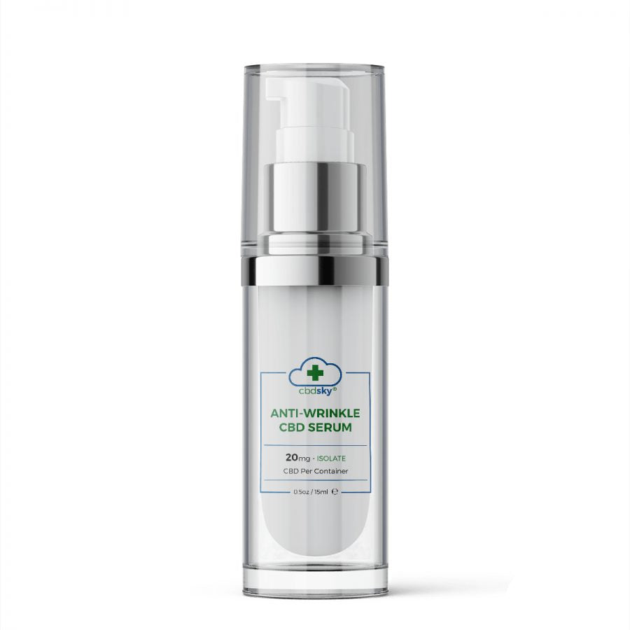 CBD Skin Care Anti-Wrinkle Serum 15ml – 20mg CBD Isolate