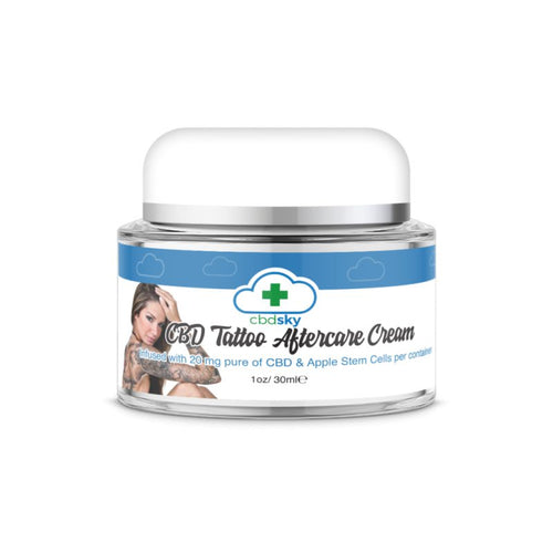 CBD Skin Tattoo Aftercare Cream